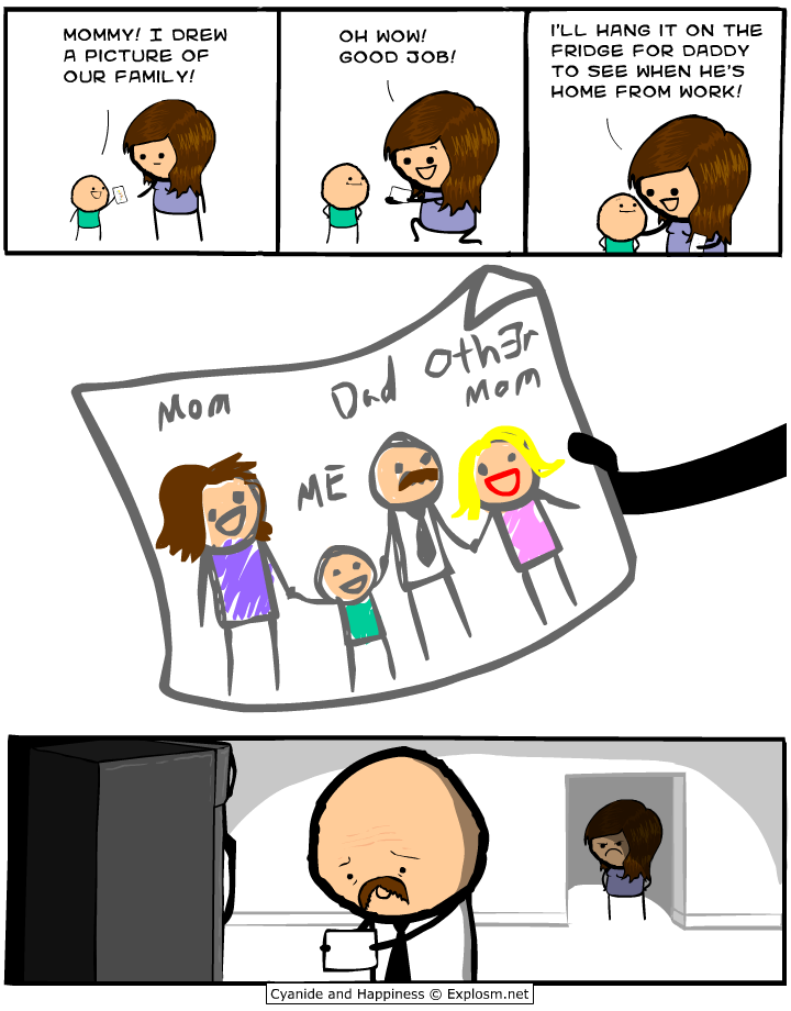 Cyanide comic strip you tell