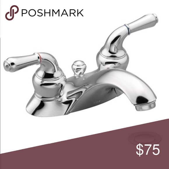 Moen 84200 Chrome Monticello Bathroom Faucet With Images Low