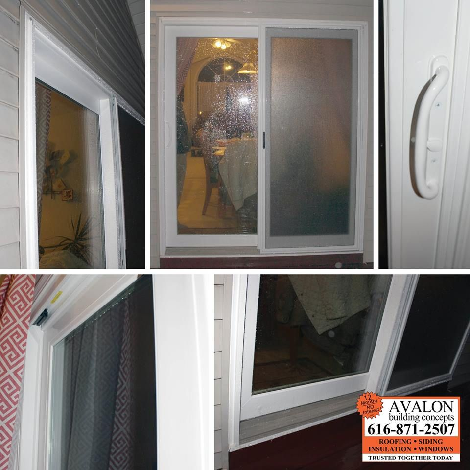 Kentwood Homeowner Hy With Ply Gem Patio Door Windows Avalon Building Concepts