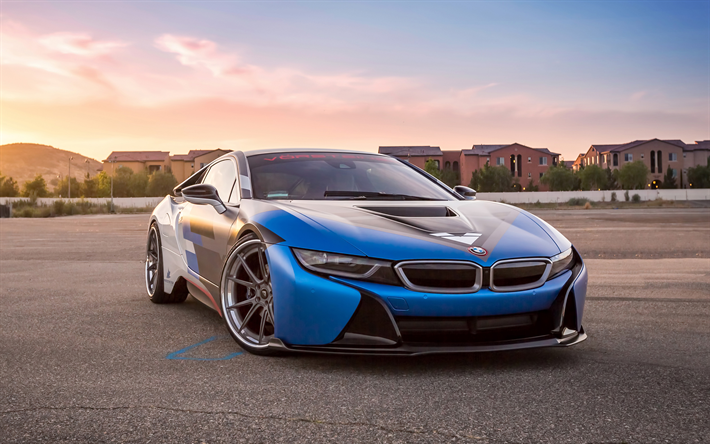 Download Wallpapers Bmw I8 4k Vorsteiner Vr E Electric Sports