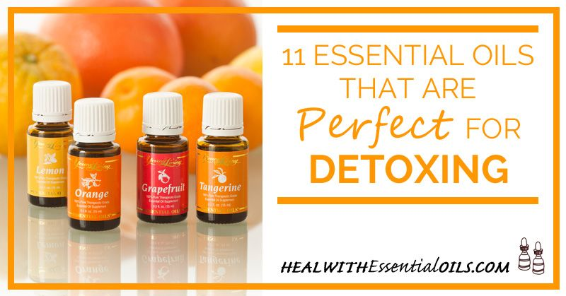 11 Essential Oils That Are Perfect For Detoxing Young