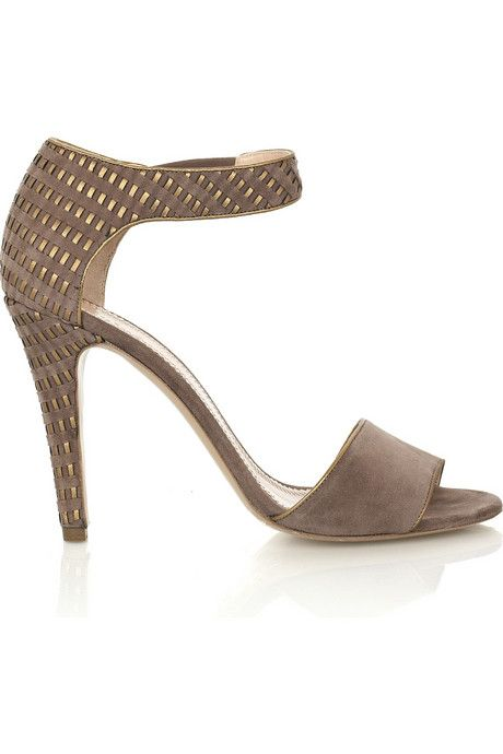 Chloe woven effect suede sandals