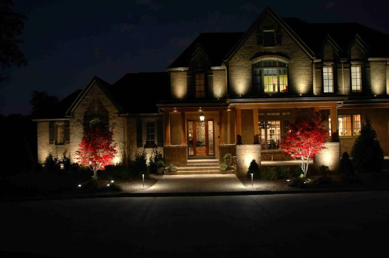 Solar Facade Lighting Landscape Lighting Design Outdoor Solar Lights Contemporary Outdoor Lighting