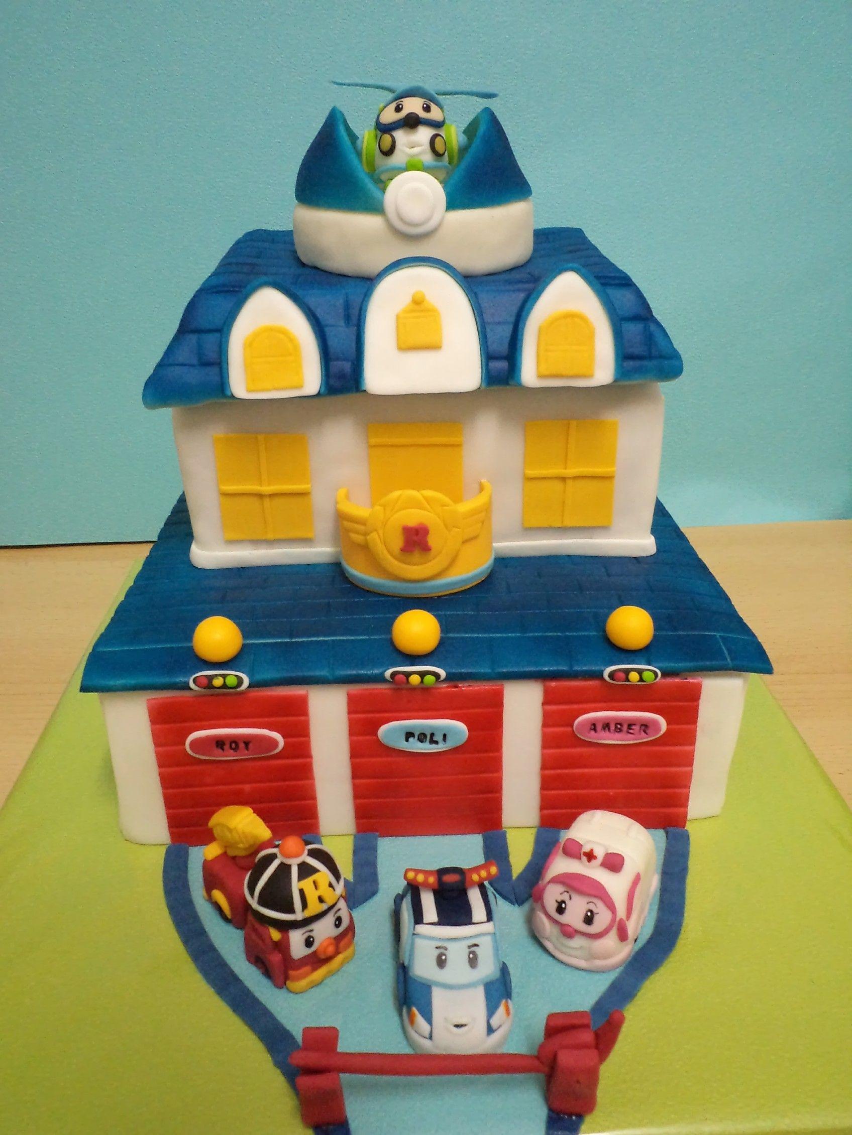 robocar poli moje dorty pinterest cake cake designs. Black Bedroom Furniture Sets. Home Design Ideas
