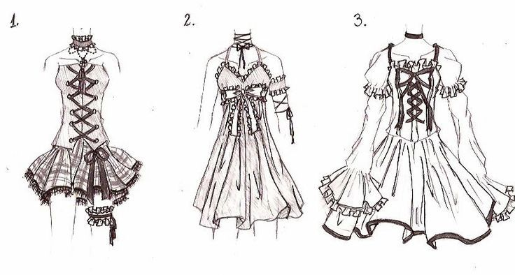anime clothes template google search inspired drawings in 2018