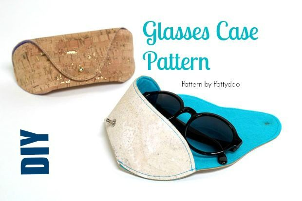Diy Glasses Case My Handmade Space Diy Glasses Glasses Case Zipper Pouch Tutorial