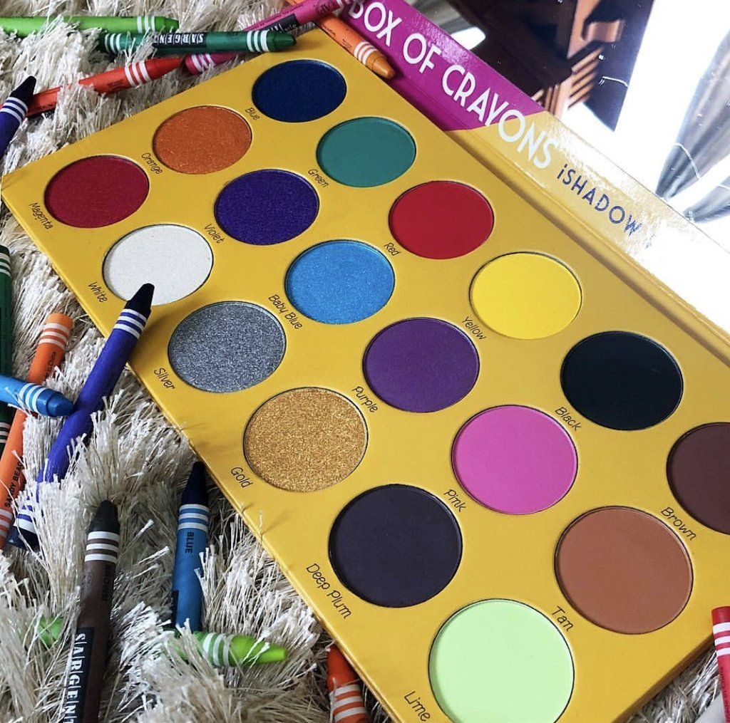 The Crayon Case Ready, Set, GLOW Shimmer eyeshadow