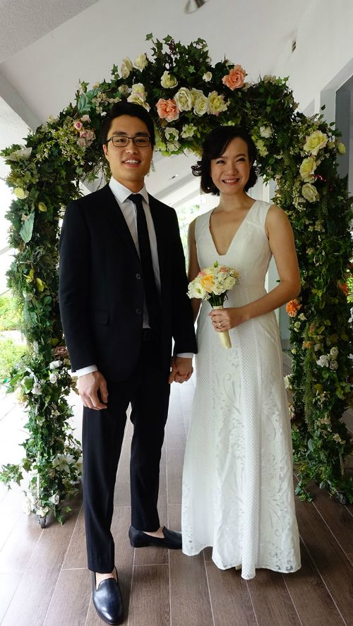 Solemnise wedding dress