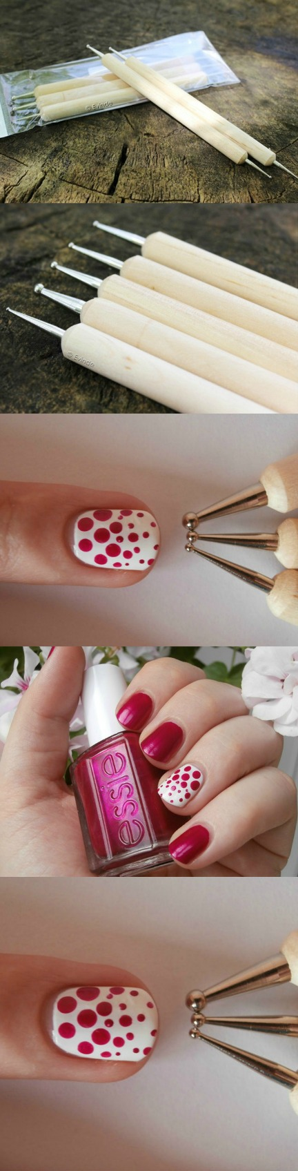 Wooden Dotting Pen Marbleizing Tool Nail Art Click The Image To Buy