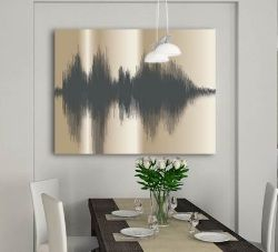 personalized canvas art from your voice....DYING!!!!!!!!!!