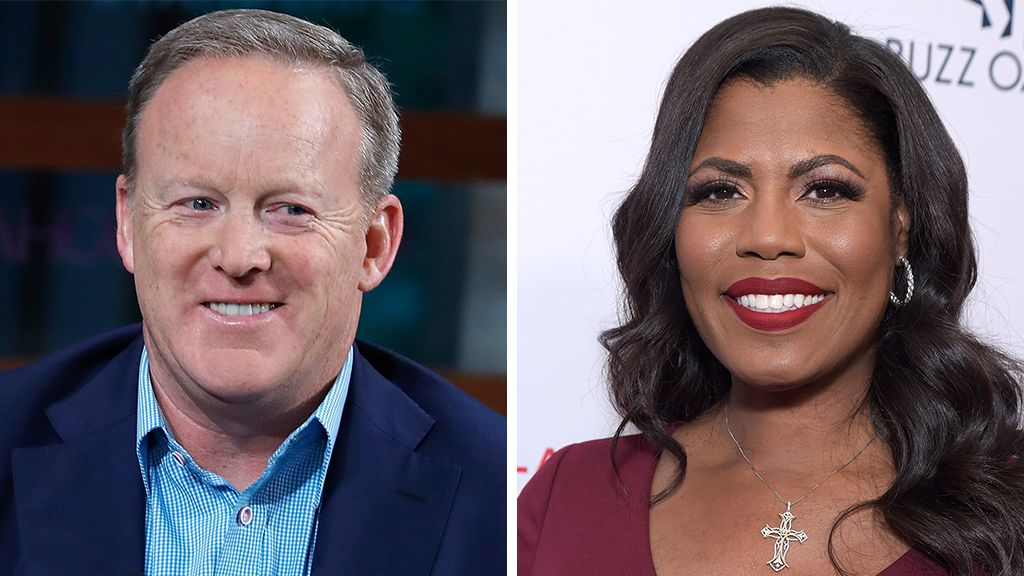 Omarosa predicts Trump will 'insert himself' to help Sean Spicer win 'Dancing With the Stars' #dancingwiththestars
