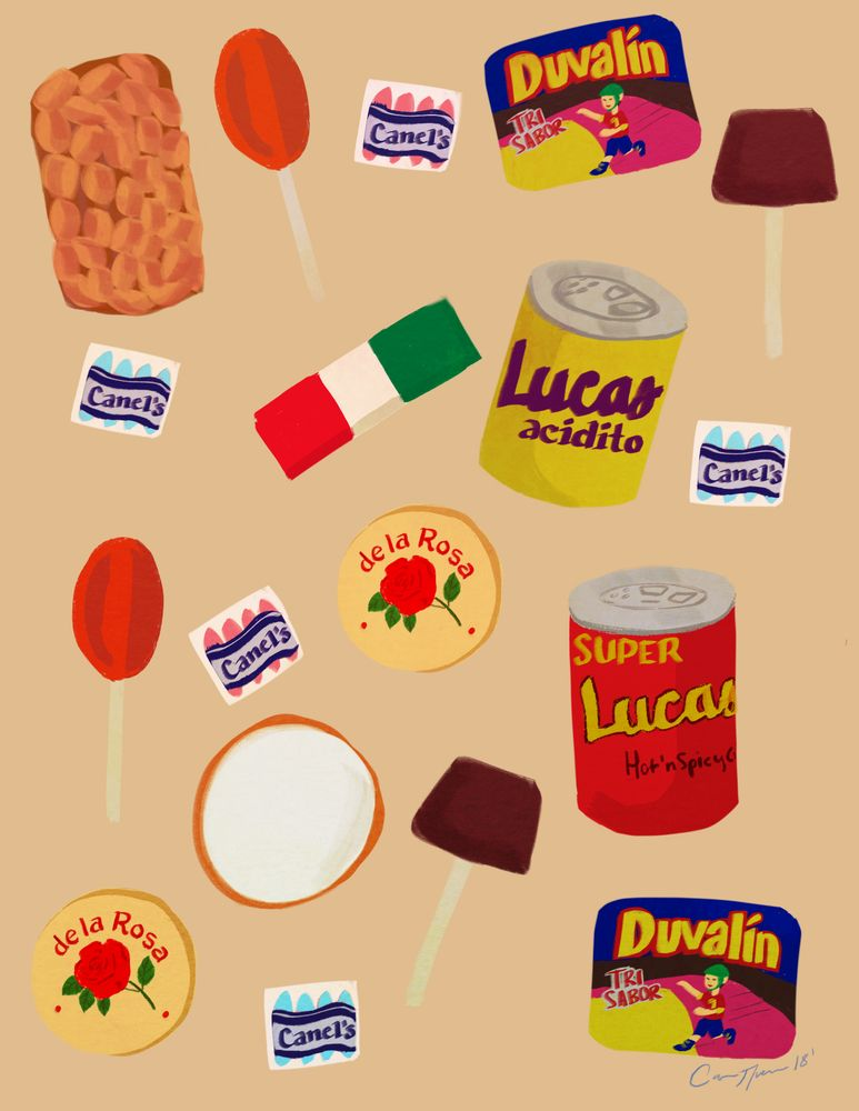 Dulces Mexicanos Framed Art Print By Carina Guevara Vector Black Medium Gallery 20x26 Candy Drawing Hand Lettering Worksheet Iphone Wallpaper Vintage