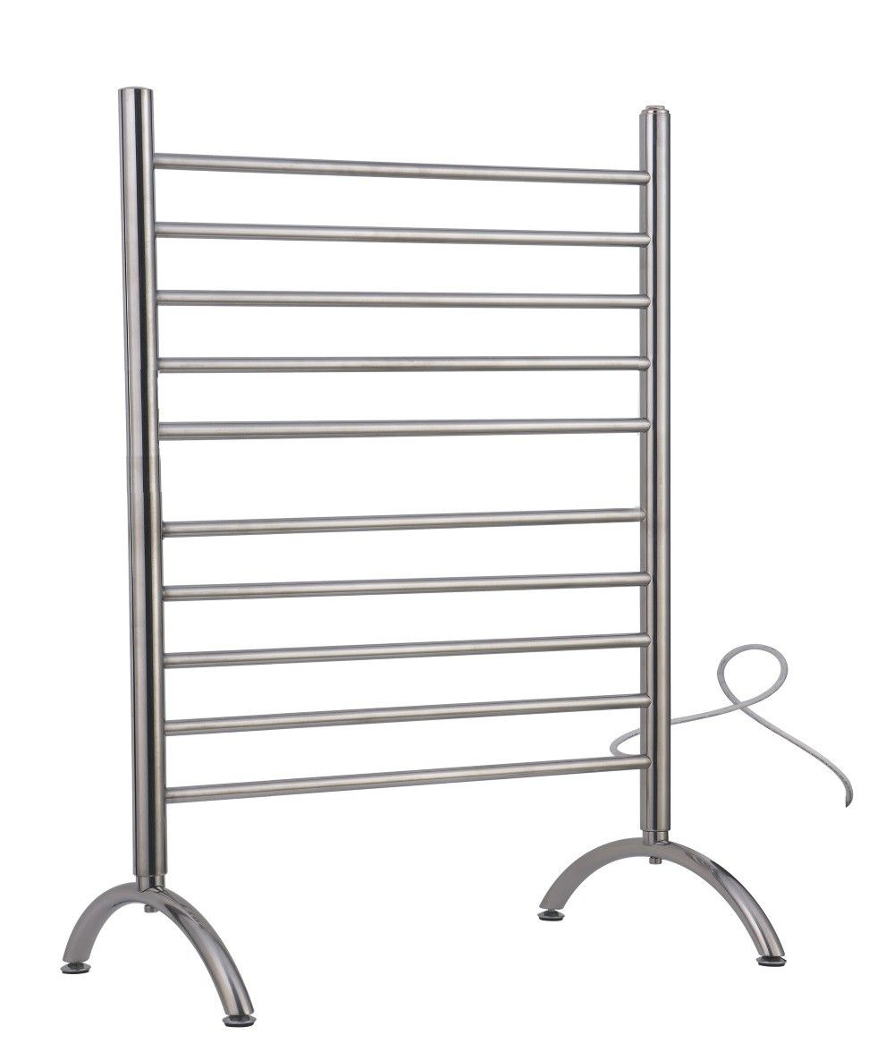 Amba Safsp 33 Solo Free Standing Plug In Electric Polished Stainless Steel Towel Warmer Electric Towel Warmer Heated Towel Towel Warmer