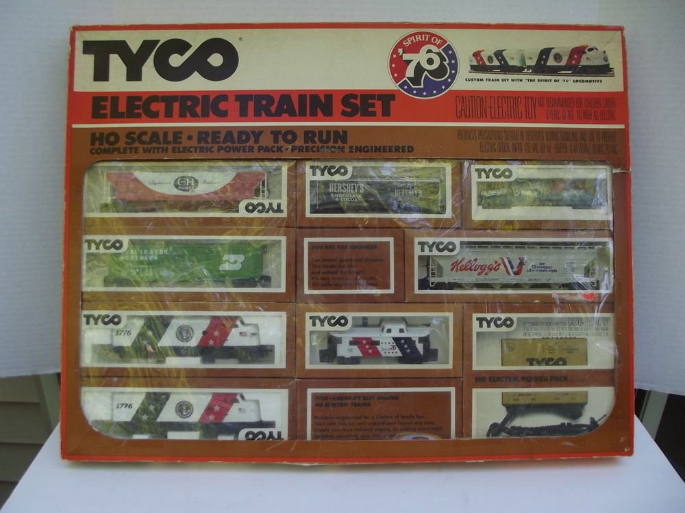 Vintage Ho Scale Tyco Spirit Of 76 Custom Freight Train