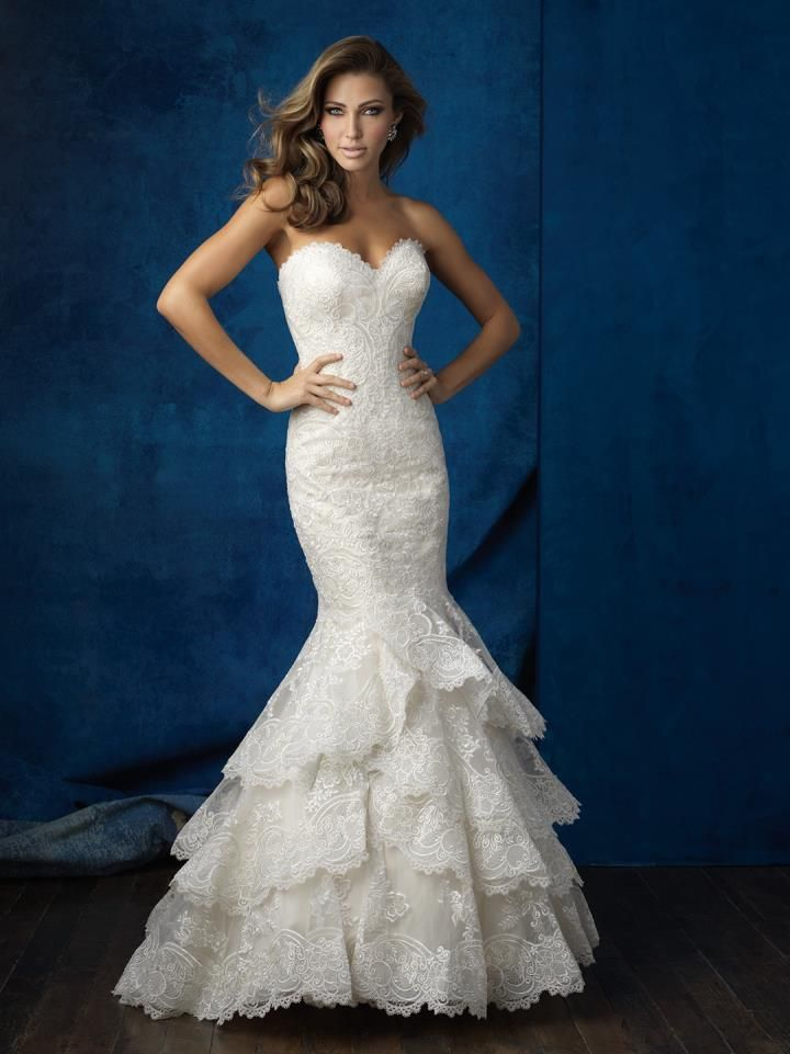 Allure 9358 at Audras Bridal Gallery | One Day... | Pinterest