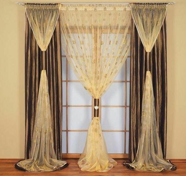 30 Gardinendekoration Beispiele - die Fenster kreativ verkleiden - cortinas decoracion