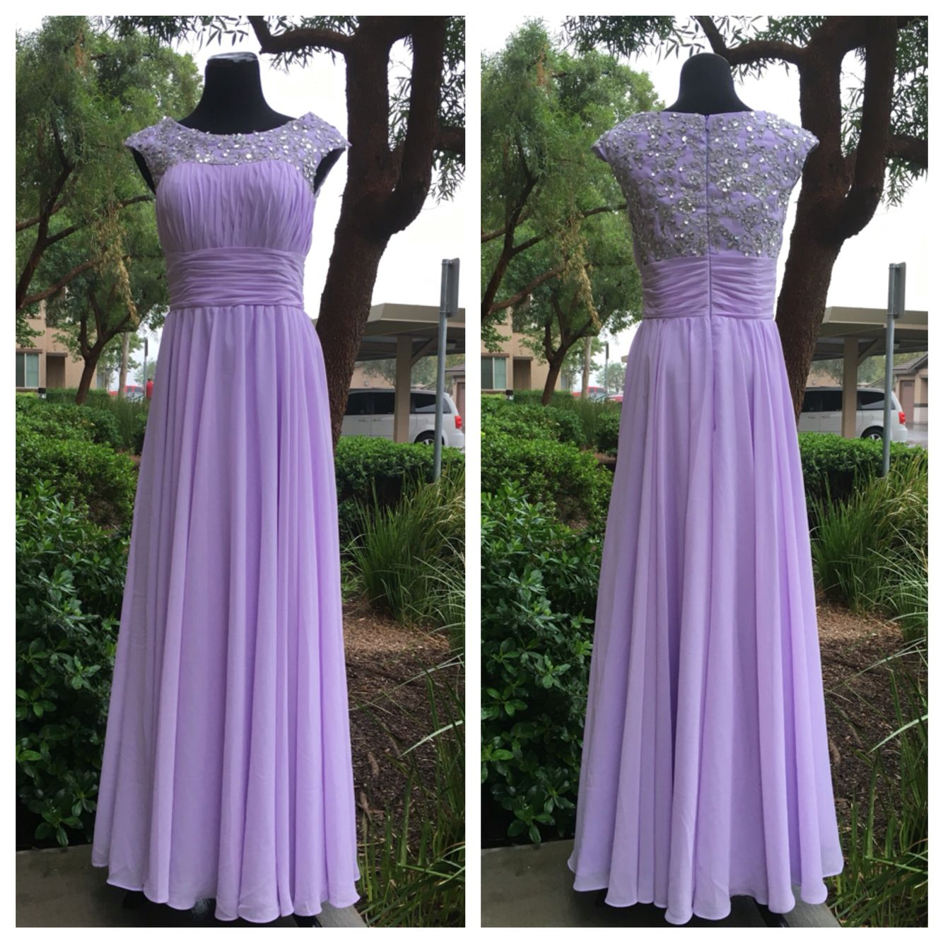 Custom Made Modest Prom Dress With Sleeves Dresses I Want Prom