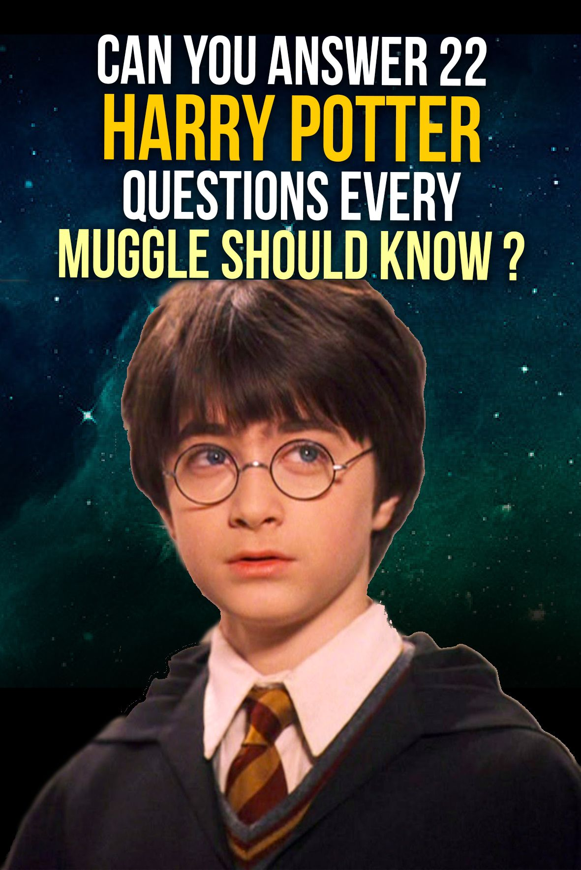 Quiz Can You Answer 22 Harry Potter Questions Every