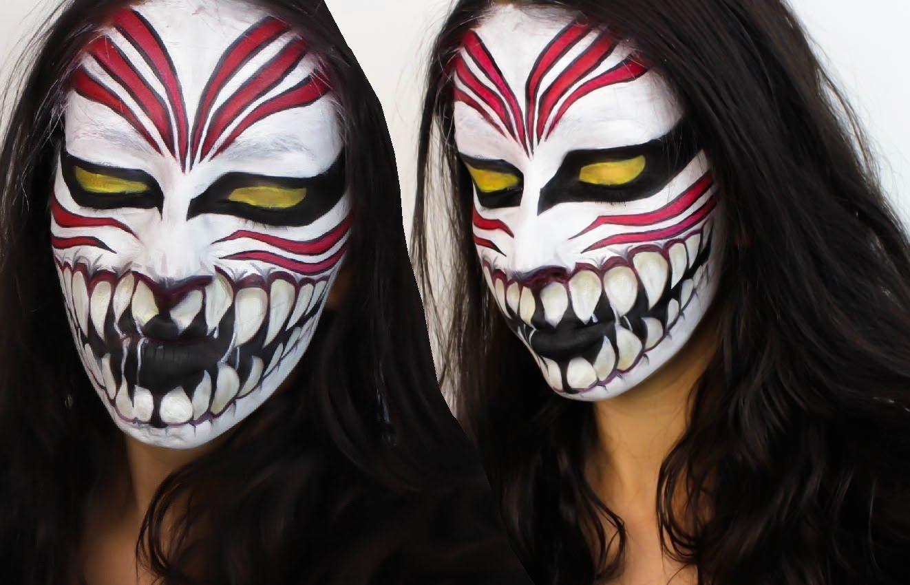 Bleach Ichigo Face Paint Hollow Mask Cosplay Mask Face Paint Face Ichigo Cosplay