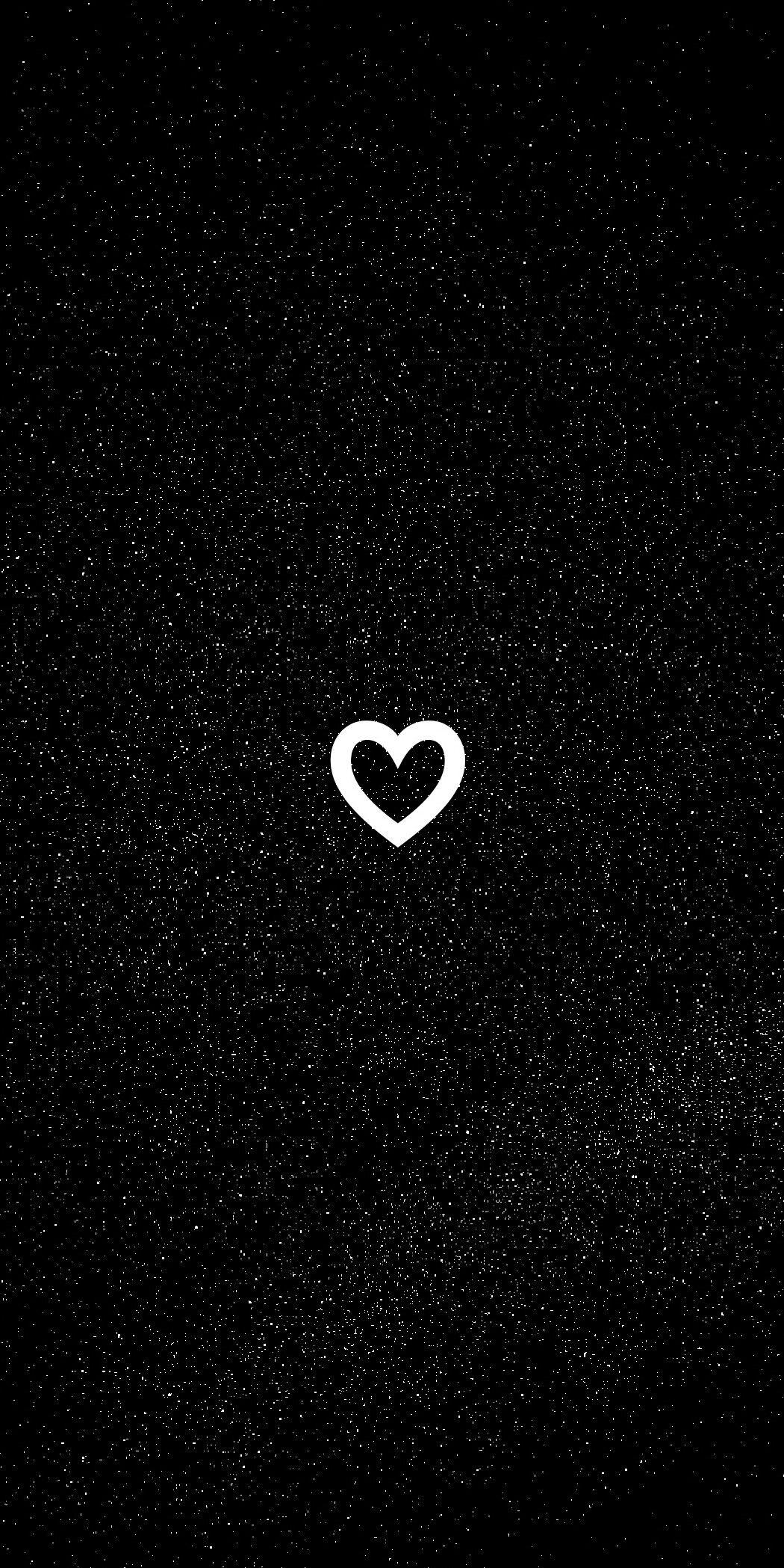 Pin By M Aria F Ernanda On Random Art Black Wallpaper Cute Black Wallpaper Heart Wallpaper
