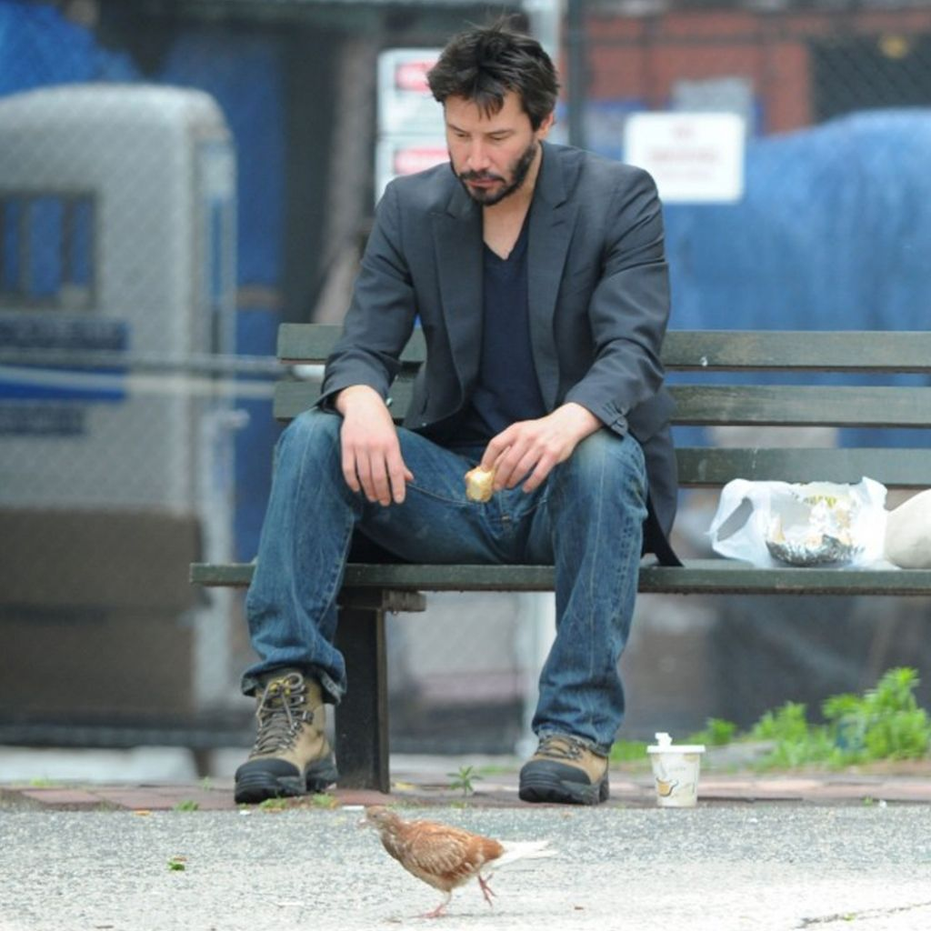 Delightful Keanu Reeves Bench Part - 6: Sad Keanu Meme | 1024x1024 Jeans Meme Bench Keanu Reeves Sad Keanu  1680x1050 Wallpaper .. I Thought People Should Reintroduce Sad Keanu Meme  Now That ...