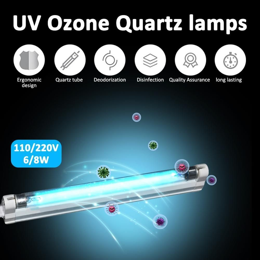 UVC Ozone UV Germicidal Lamp T5 Tube Ultraviolet Sterilizer Disinfection Light