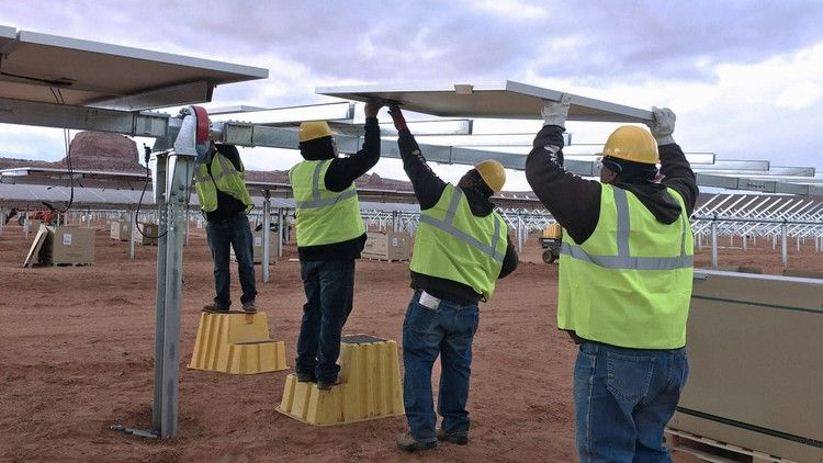 Solar is starting to replace the largest coal plant in the
