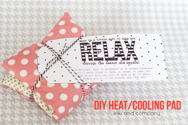 Diy Heating And Cooling Pad Bloggers Best 12 Days Of Christmas