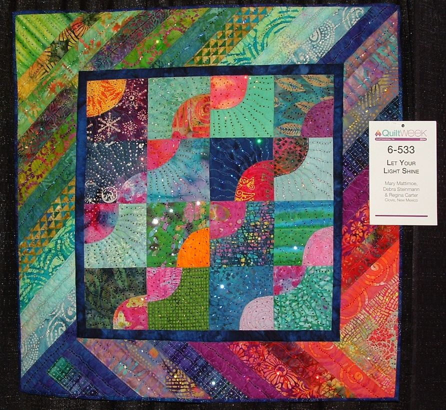 Let Your Light Shine from AQS Quilt Show in Chattanooga, TN   Hot ... : aqs quilt show - Adamdwight.com