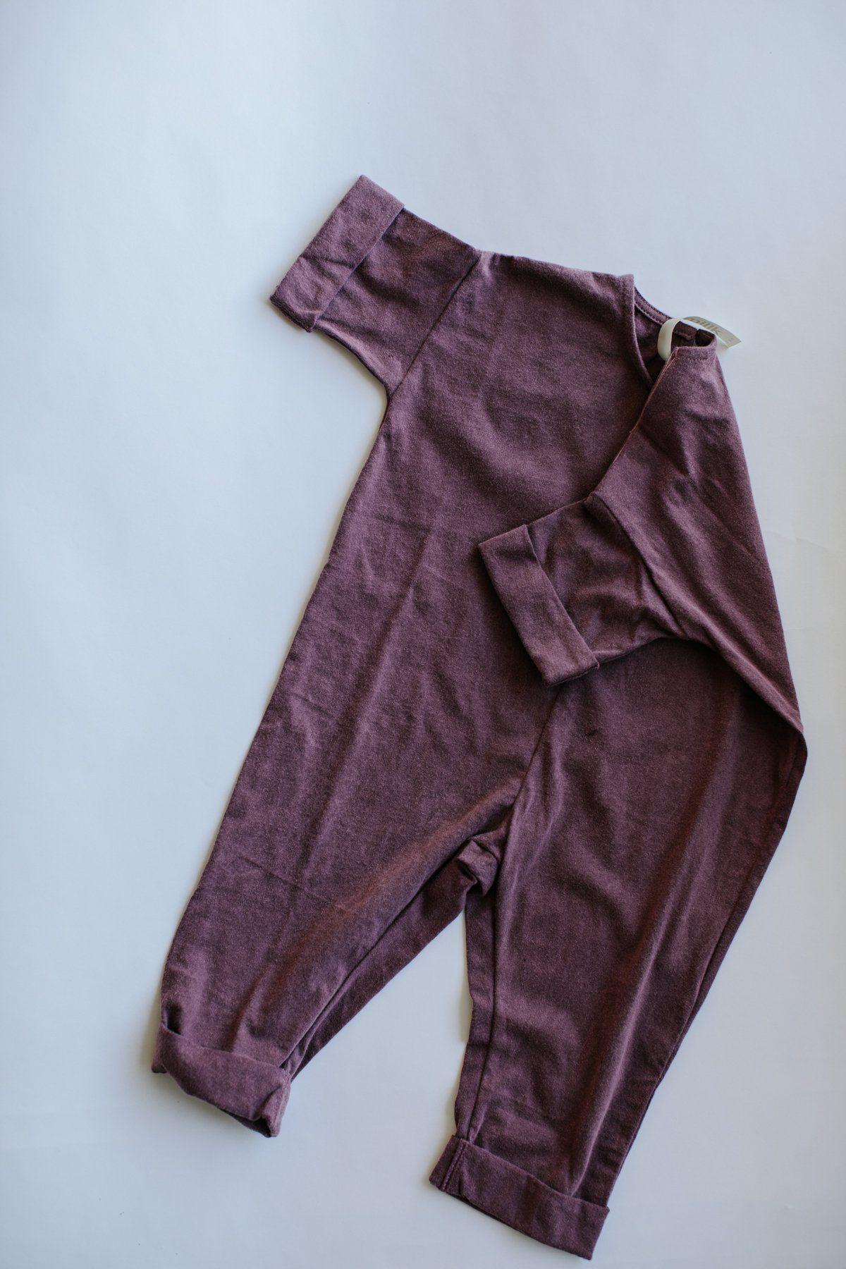 590ea30fabb1 the ultimate jumpsuit - wine Toddler Jumpsuit