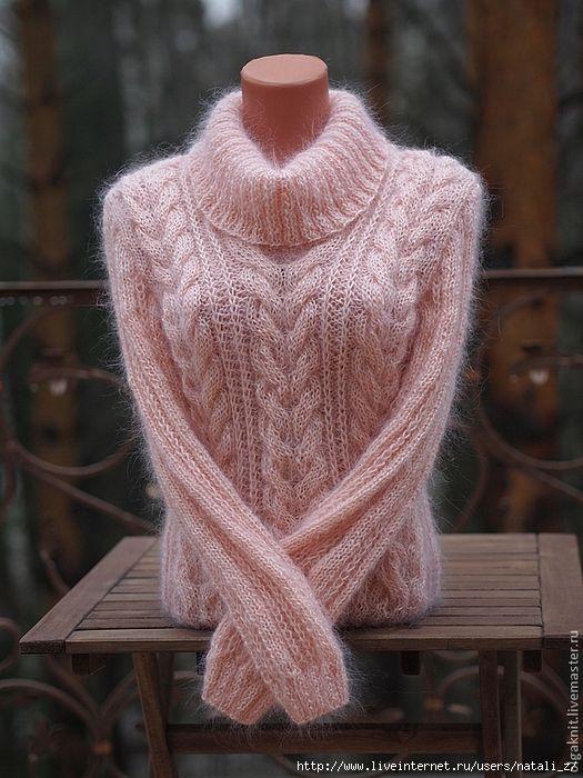 мобильный Liveinternet свитер уютный из мохера автор ольга