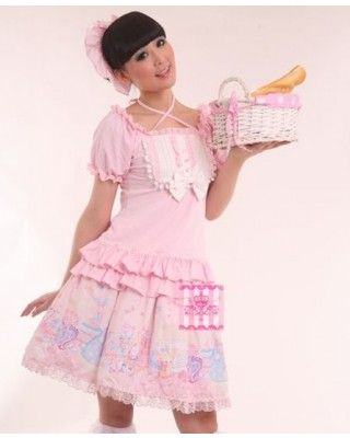 Sweet Princess Doll Cotton T-shirt #lolita  #T-shirt