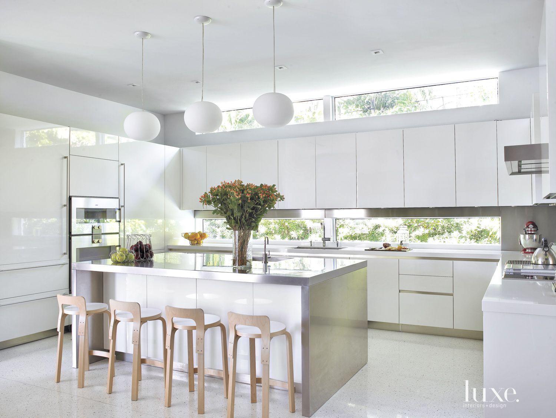 50 sleek white kitchens white modern kitchen
