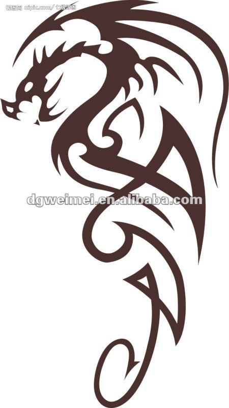 dragon dise o tribal tatuajes para los hombres tatoos tatuajes and tatoo. Black Bedroom Furniture Sets. Home Design Ideas