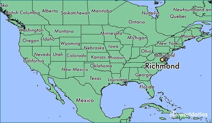 Where is Richmond, VA?   Richmond, Virginia   Kansas city ...