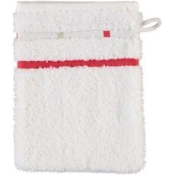 Photo of Vossen towels Quadrati white / lipstick – 057 – washing glove 16×22 cm Vossen