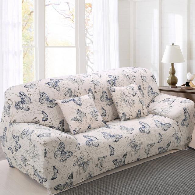 Sofa Chair Cover Printed Design Elastic