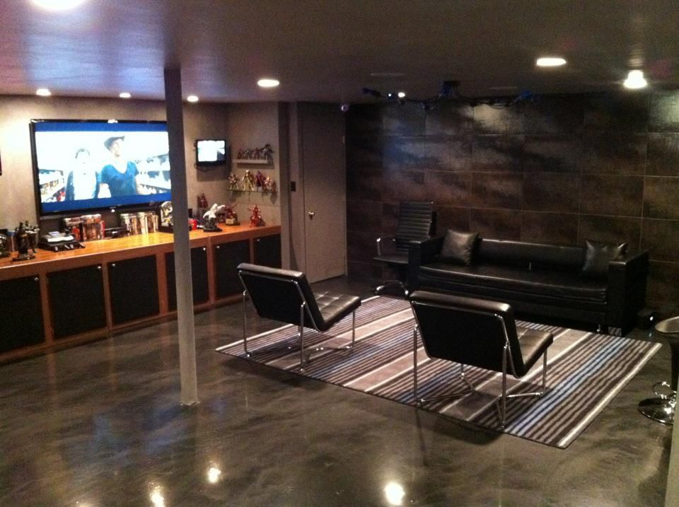 Designer Epoxy Floor for DIY Man Caves Show in NJ | Allure