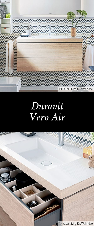 Duravit Vero Air: Die Kombination des Waschtisches der Serie Vero ...