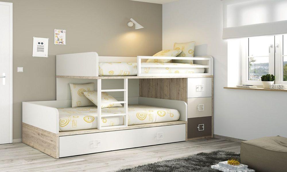 Cama tren infantil 003 dormitorios infantiles - Camas tren para ninos ...