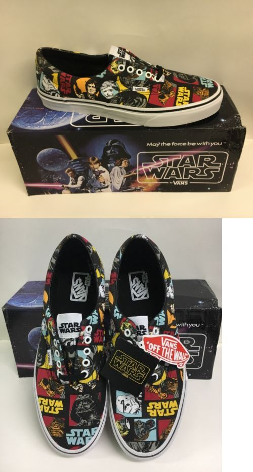 ab32440833 Hats and Headwear 159078  Vans Era Star Wars Classic Repeat Mens 9.5  Skateboarding Shoe -  BUY IT NOW ONLY   69.95 on eBay!