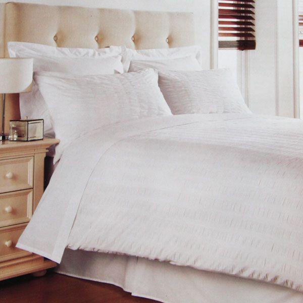 Pin By Thebeautybloggeruk On White Seersucker Duvet Covers Duvet Sets Duvet Covers Contemporary Duvet Covers