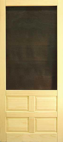 Coppa Woodworking Wood Screen Doors And Wood Storm Doors Doors With Images Wood Screen Door Wood Screens Screen Door