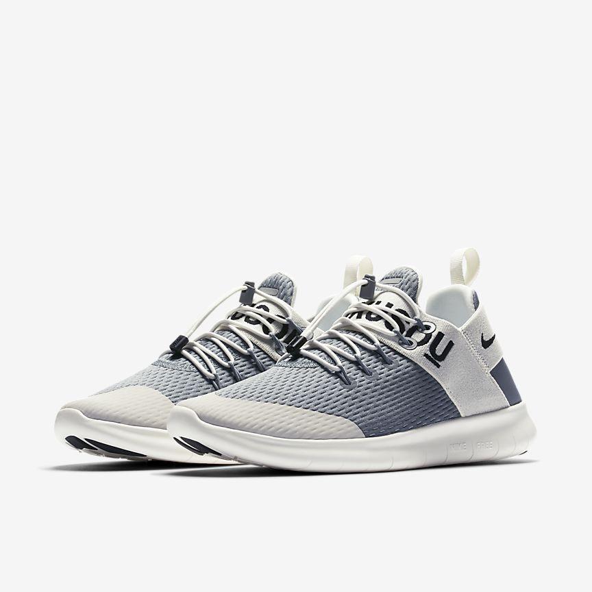 Nike Gray Free Rn Commuter 2017 Gyakusou Women's Running Shoe