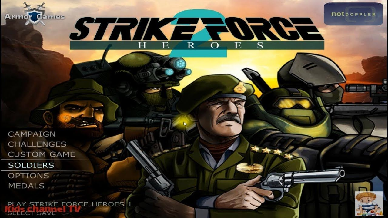 Kids Tv Channel Strike Force Heroes 2 Secret Characters Author Sky Online Action Games Hero Armor Games