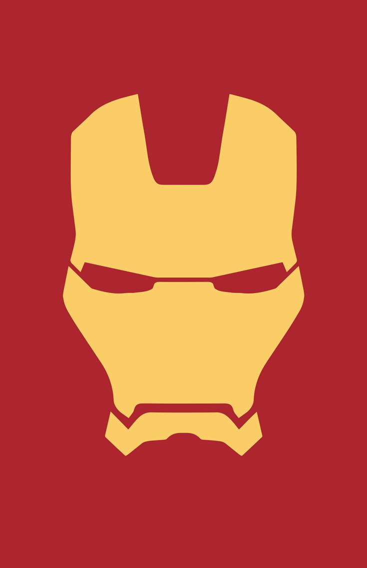 Iron Man Helmet Minimalist Heroes Iron Man Face Iron Man Mask Iron Man Symbol