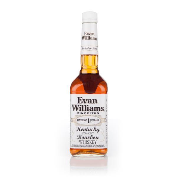 Evan Williams White Label Bourbon Whiskey Evan Williams Bourbon