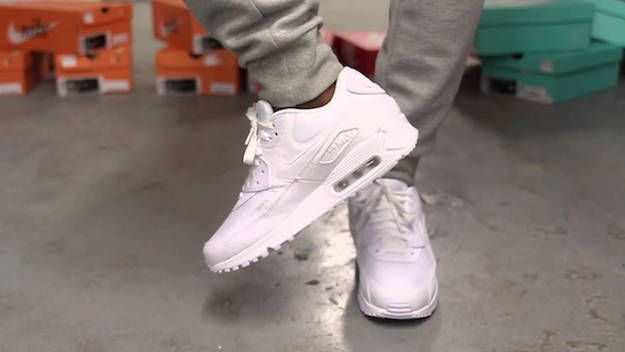 Light Grey and Beige Tones | All White Nike Shoes Style Guide | How Men  Dress