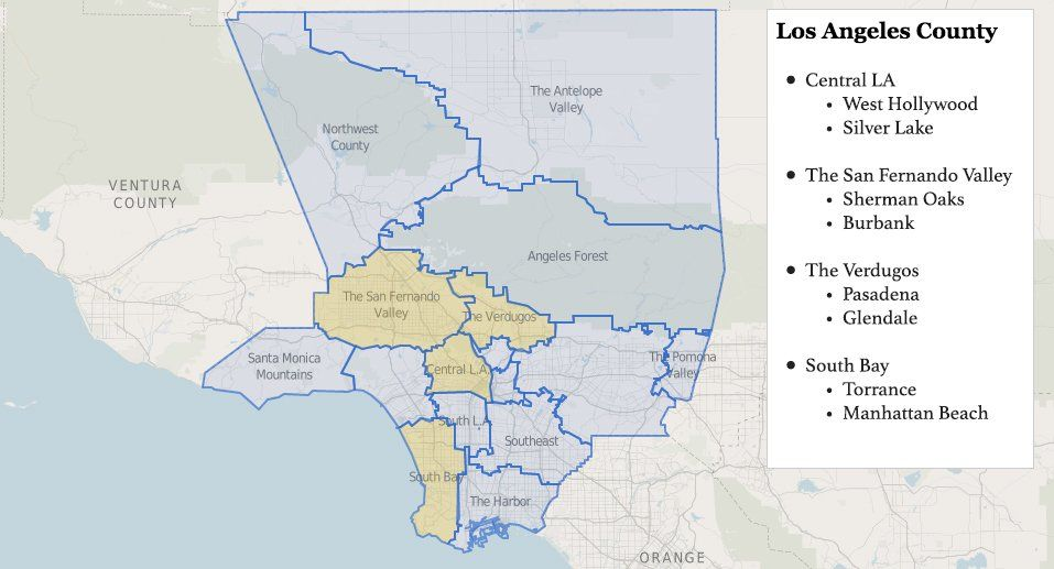 Los Angeles Neighborhood Guide For Newbies In 2020 Los Angeles Neighborhoods Neighborhood Guide Los Angeles