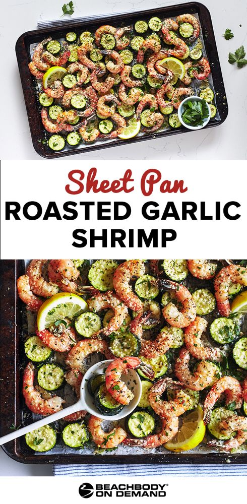 Sheet Pan Suppers: Garlic Shrimp Recipe | The Beachbody Blog